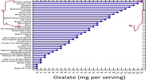 low oxalate vegetables