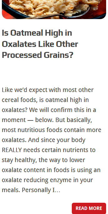 low oxalate foods 3