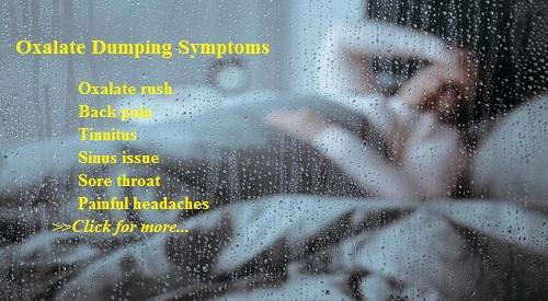 oxalate dumping symptoms